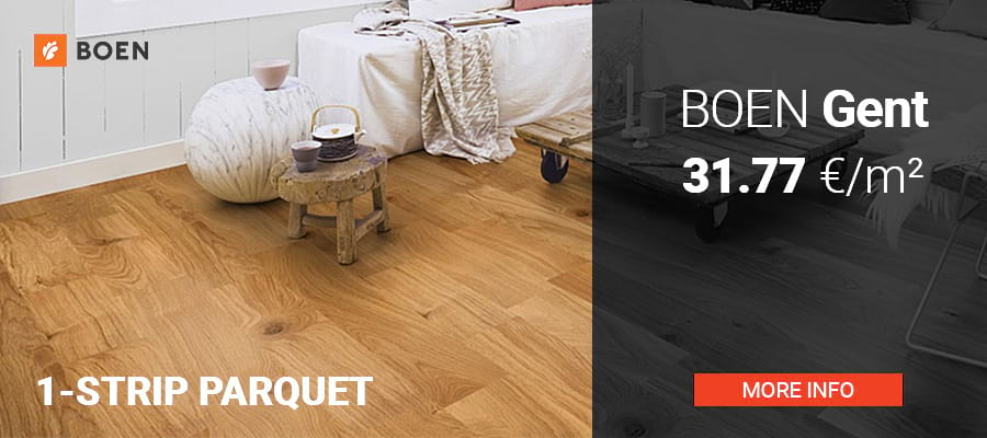 Boen Gent - Plank 1-Strip from 31,77 €/m²