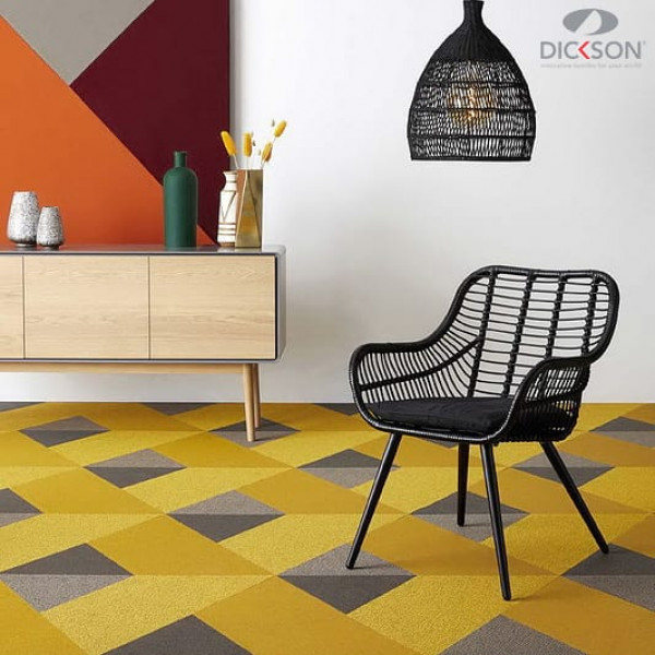 New collections of woven flooring by Dickson